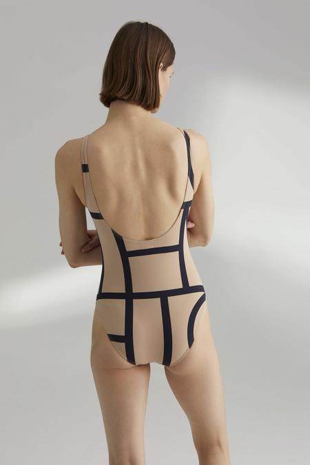TOTÊME Positano Printed Swimsuit - Monogram Print