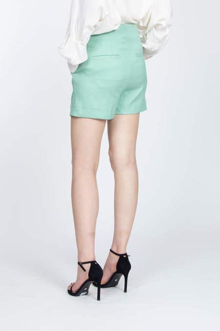 JOSEPH Bermuda Shorts - Mint Green