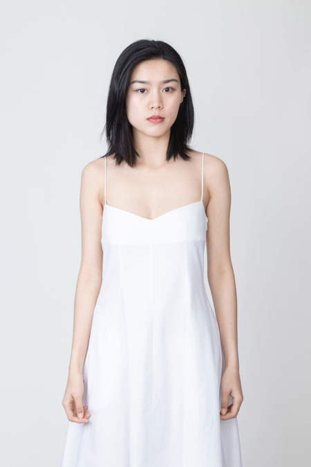 KHAITE Isabella Dress - White