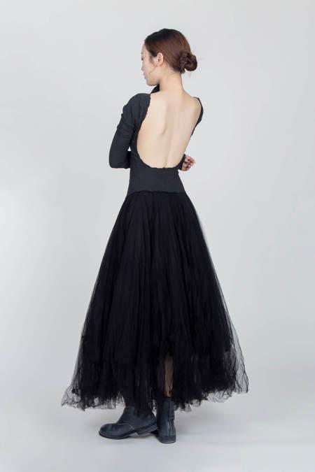 MARC LE BIHAN Danseuse Dos Nu Dress - Black