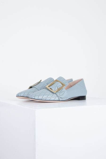 BALLY Janelle Loafers - Perfo Opale