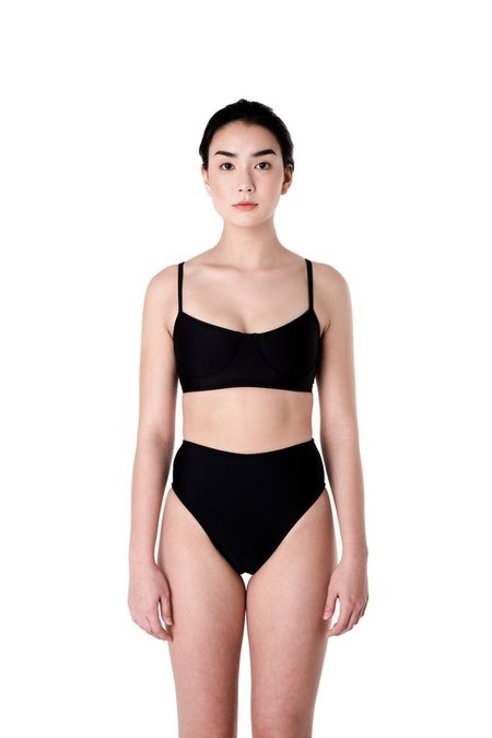 Minnow Bathers Shell Top - Black