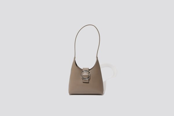 IMAGO-A Lucite Purse - Clay