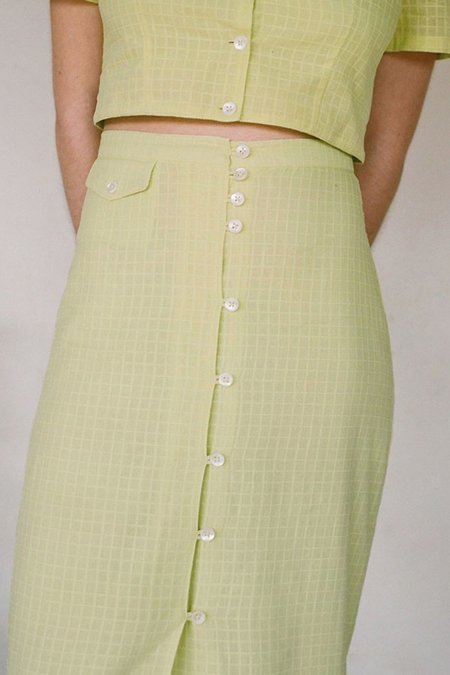 Paloma Wool Lalonde Skirt - Light Green