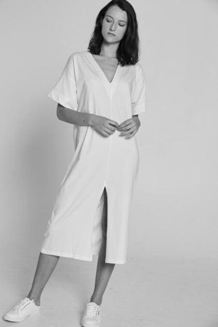 Bare Bones Everything Dress - White