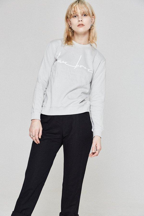 Bare Bones Logo Sweater - Grey