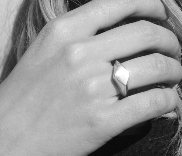 EMBR Jewellery Prime Ring - Sterling silver