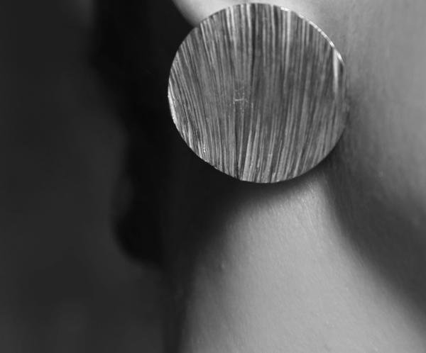 EMBR Jewellery Tidal Earrings - Sterling silver
