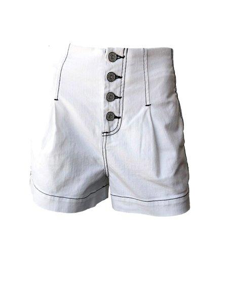 Joie Tylar Shorts - Porcelain