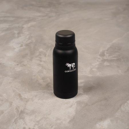 COW BOOKS Stainless Bottle - Black
