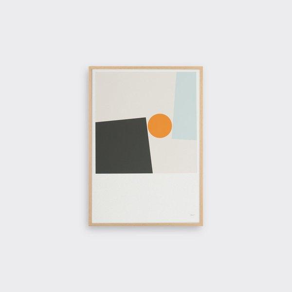 Tom Pigeon Block & Ball print