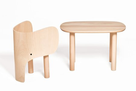 KIDS Elements Optimal Elephant Table & Chair Set