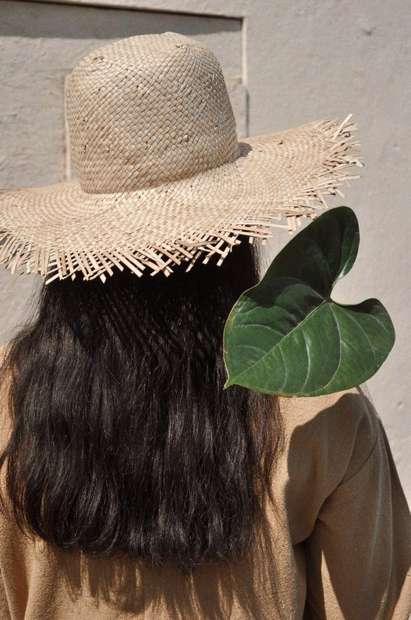 Brookes Boswell Fringe Hat - Maize