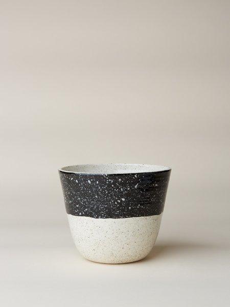 BTW Ceramics Planter - Black Speckled