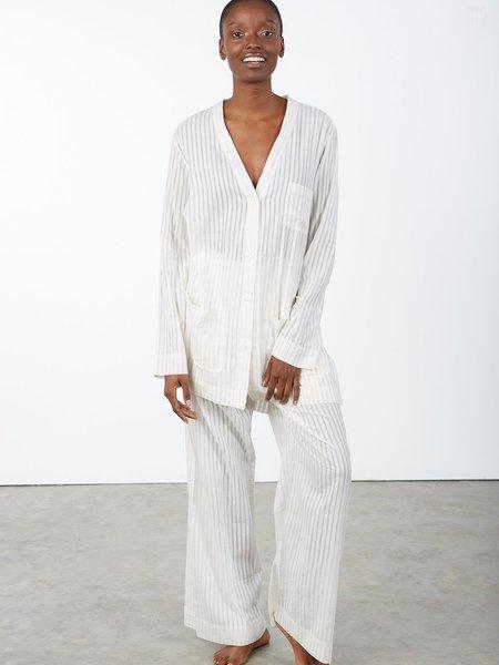 Khadi and Co Pajama Set - white