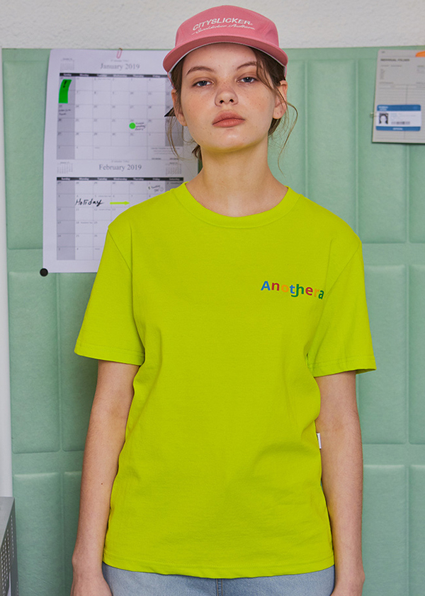 Another A T-shirt - Neon Yellow