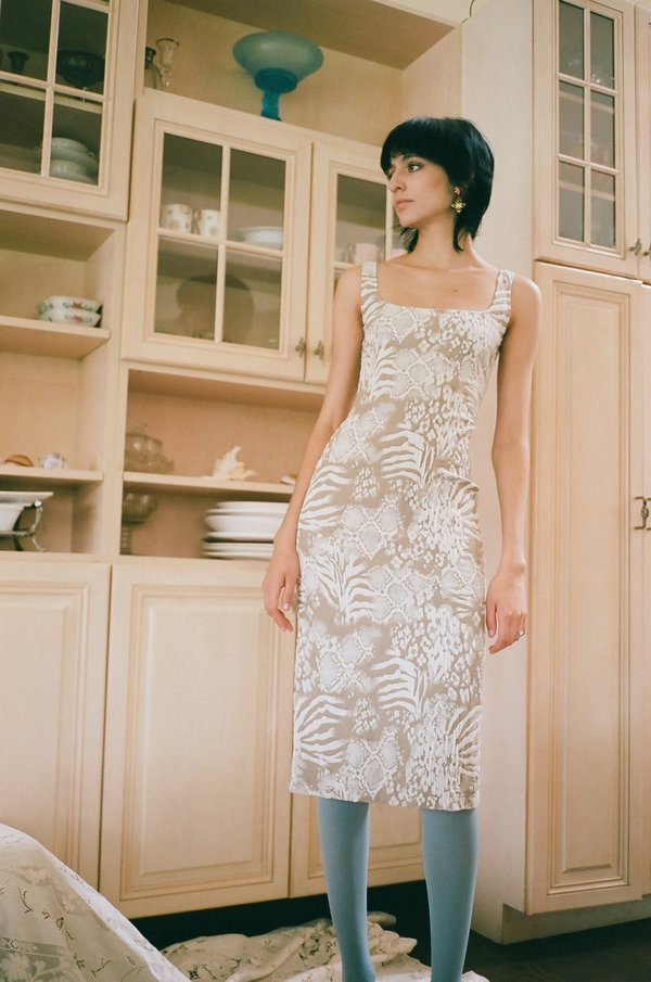 Maryam Nassir Zadeh Salma Hem Dress