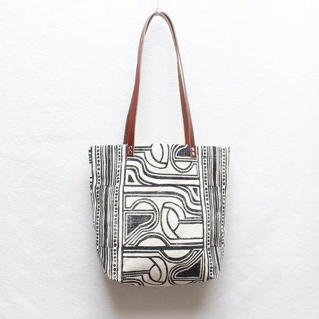 Julia Canright Nouveau Tote Bag - Block Print