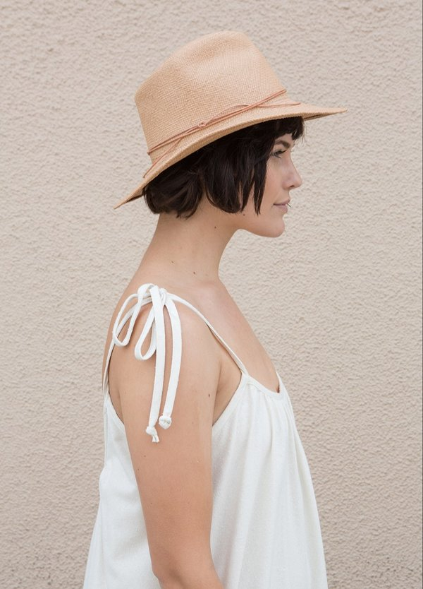 Brookes Boswell Prescott Hat - Tan
