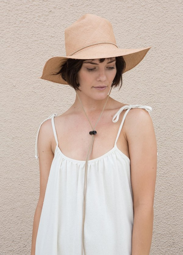 Brookes Boswell Ranger Hat - Natural Panama