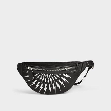 Neil Barrett Classic Belt Bag - Black/White