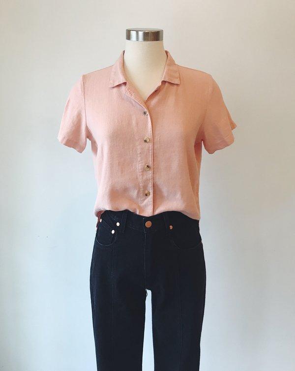 Me & Arrow Button-Down Shirt - Cherry Blossom