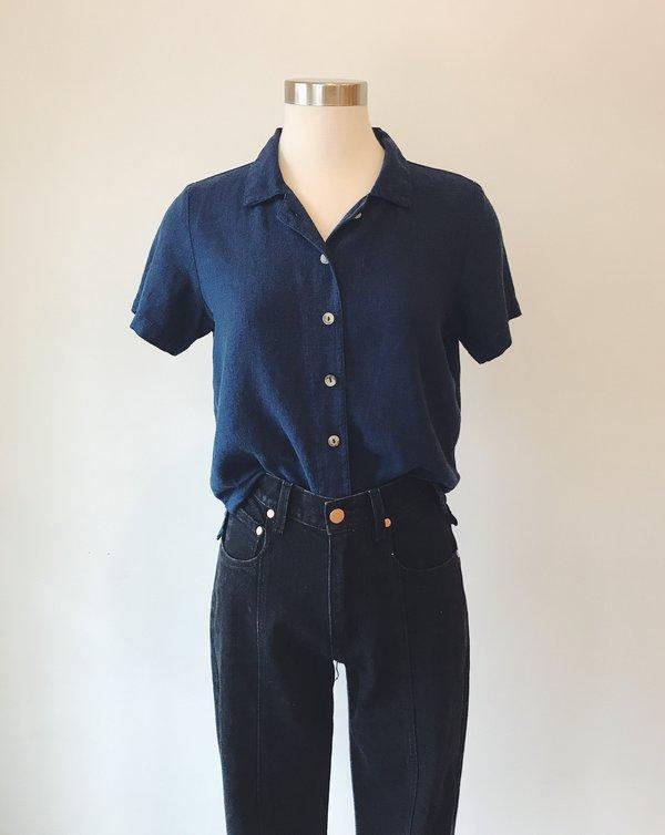 Me & Arrow Button-Down Shirt - Navy