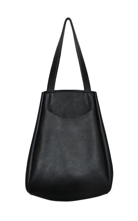 Georgia Jay Archy Tote - Black Pebble