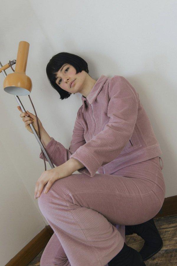 Sister Corduroy Divine Jacket - Dusty Pink