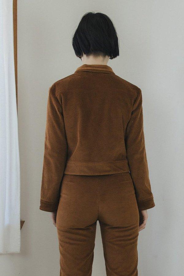 Sister Corduroy Divine Jacket - Toffee Brown