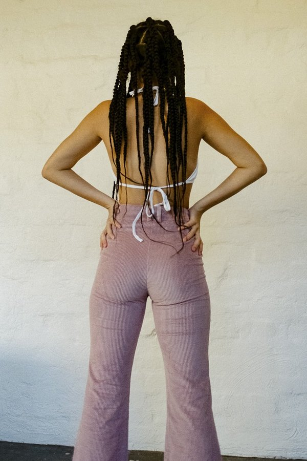 SISTER Corduroy Divine Pant - Dusty Pink