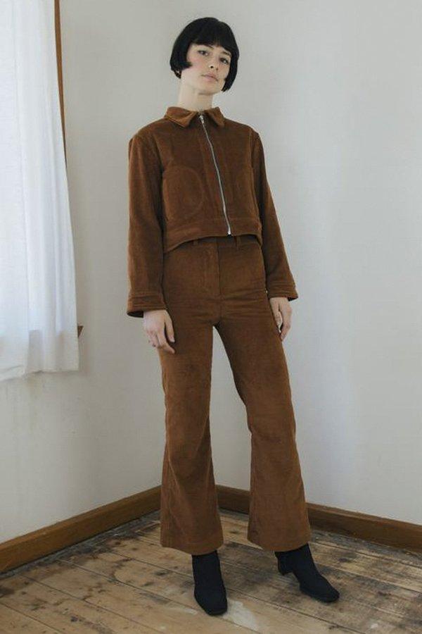 Sister Corduroy Divine Pant - Toffee Brown