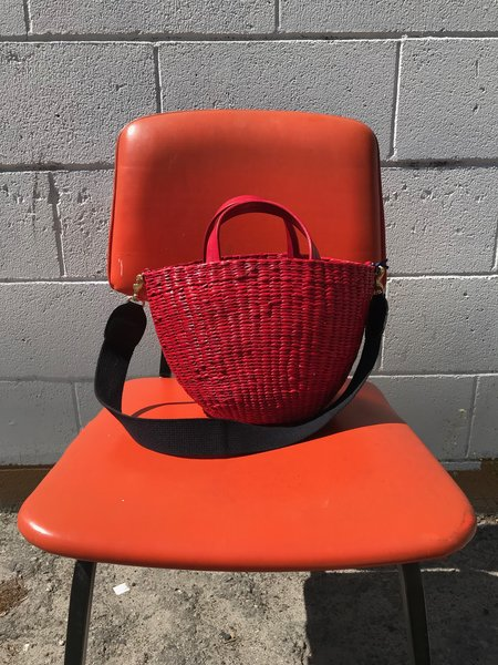 Clare V. Appoline Basket - Red