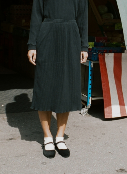Baserange - Robbie Skirt (Rib)