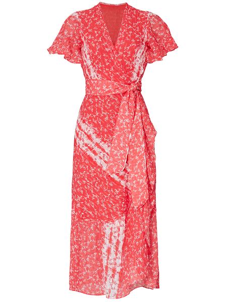 TANYA TAYLOR Blaire Dress - Guava