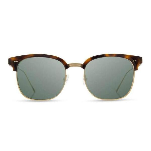 Shwood Foster Brindle Polarized - Matte Gold Walnut