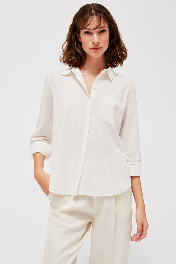 Lacausa Parker Button Up - moon