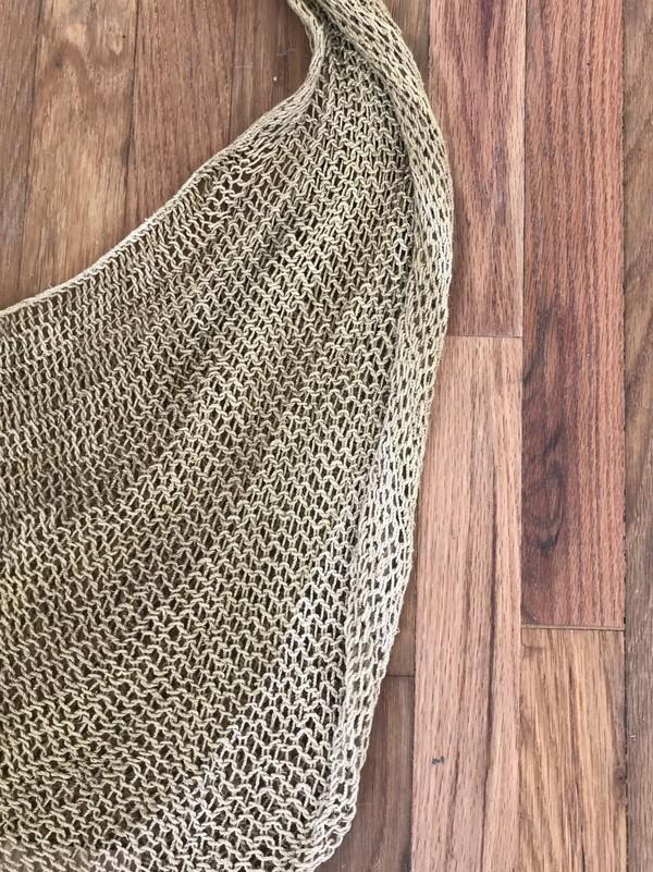 bek & meri PNG Bilum - Natural