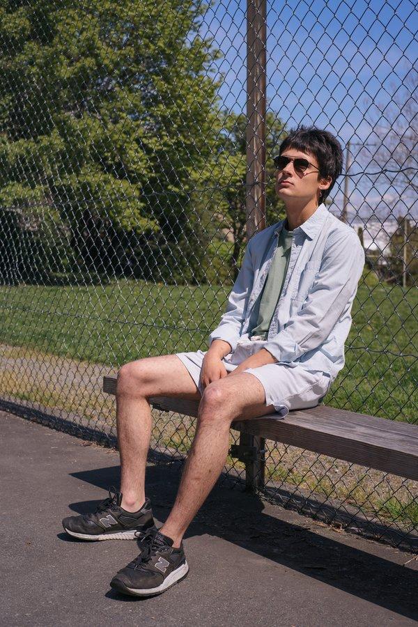 Sunshine Blues Summer LS Shirt - Blue
