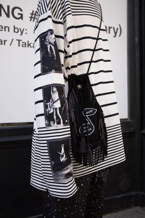 Takahiromiyashita The Soloist. Fringe Leather Oscar Medicine Bag