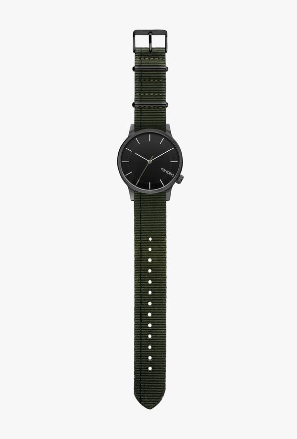 KOMONO Winston Regal Watch - Nato Green
