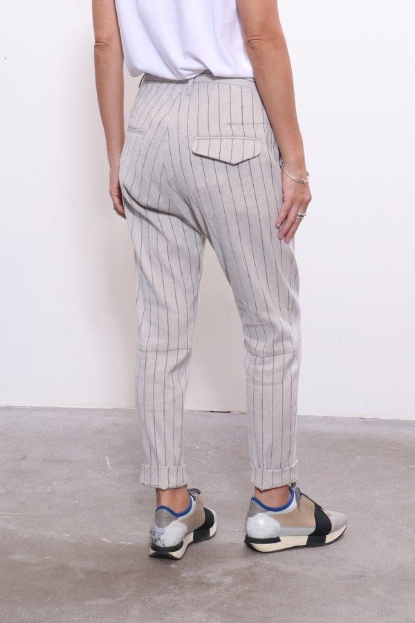 Hope Krissy Trouser - Grey Stripe