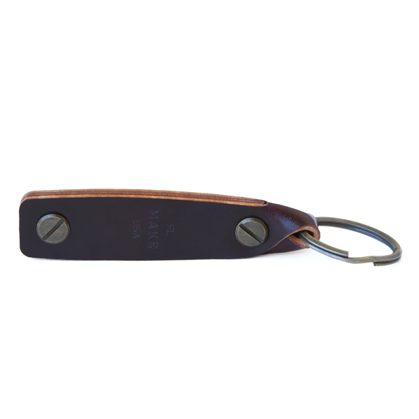 Unisex MAKR Turn Fob - Ox Blood