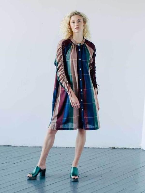 Seek Collective Cy Shirt Dress - Plaid