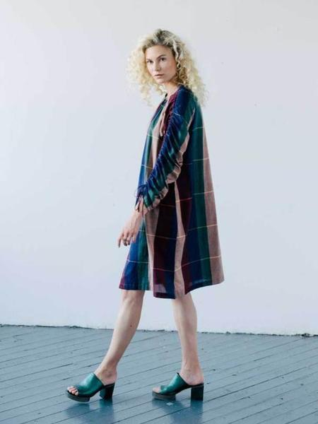 Seek Collective Cy Shirt Dress - Plaid