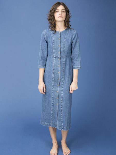 Ilana Kohn Rose Dress - Denim