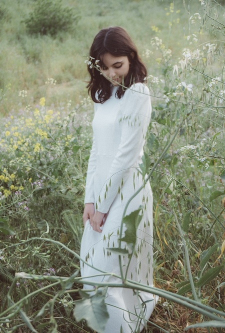Fiola la Flore Lullaby dress - white