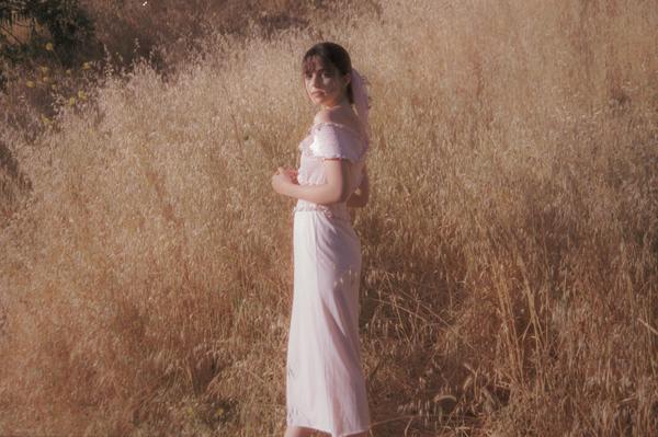 Fiola la Flore Snowdrop dress - pink