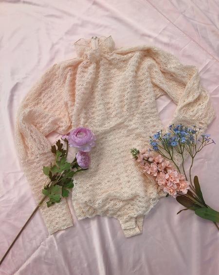 Fiola la Flore Little Prince bodysuits - cream