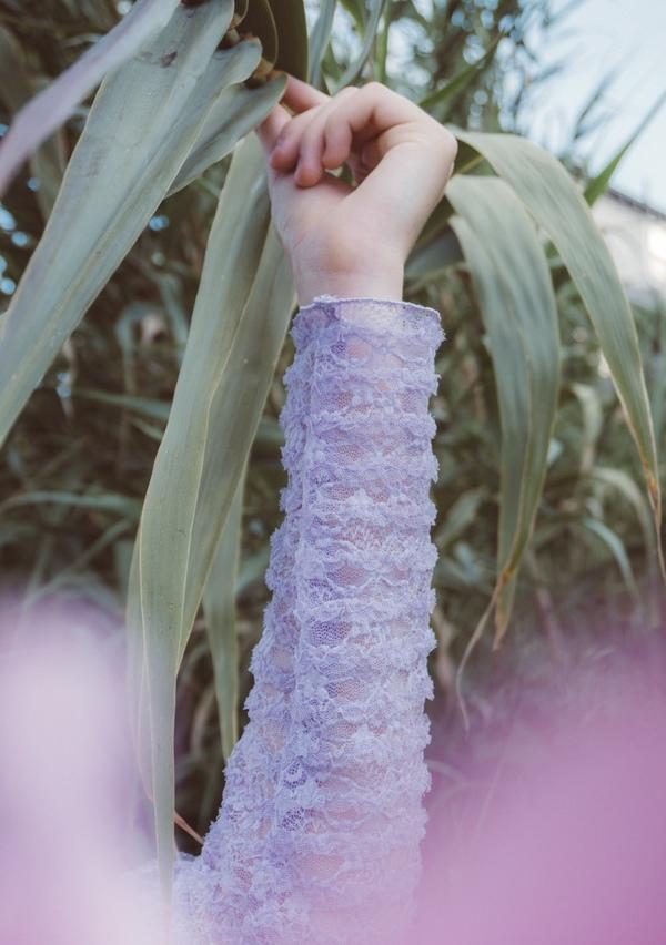 Fiola la Flore Little Prince bodysuits - lavender